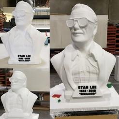 Impresiones 3D gratis Monumento a Stan Lee, Dizastered
