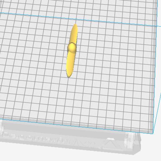 helice-2-pales-1.PNG Télécharger fichier STL gratuit helice 2 pales - propeller 2 blades • Modèle pour impression 3D, nielerwan