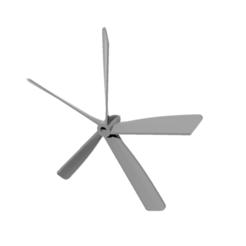 helice-5-pales-type-t4-5-blades.PNG Télécharger fichier STL gratuit helice 5 pales - propeller 5 blades • Design imprimable en 3D, nielerwan
