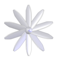 helice-10-pales.png Télécharger fichier STL gratuit helice 10 pales - propeller 10 blades • Objet imprimable en 3D, nielerwan