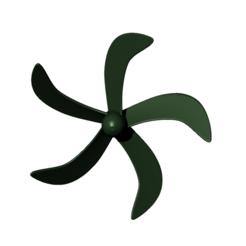 Download free 3D printing models 5-blade underwater propeller - prop submarine, nielerwan