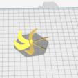 Télécharger fichier 3D gratuit helice sous marin 6 pales - submarine prop, nielerwan