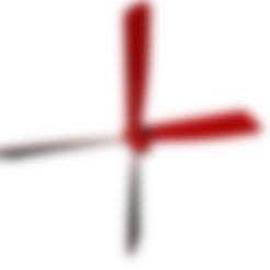 helice-avion-22mars-4-pales-4-blades.stl Télécharger fichier STL gratuit helice 4 pales - propeller 4 blades • Design pour impression 3D, nielerwan