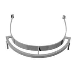 Télécharger STL gratuit Visiere protection faciale COVID19 - facial protection, nielerwan