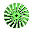 Télécharger fichier STL gratuit Soufflante réacteur 18 aubes • Modèle imprimable en 3D, nielerwan