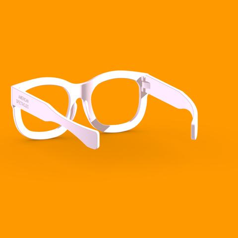 9b161a3e452f ... American Spectacles 3D print files American Spectacles - 3D-Printed  Wearable Eyewear Frame