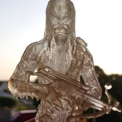 STL Resin Chewbacca, Caly3D91