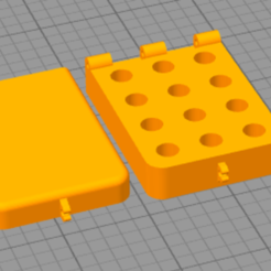 Download free 3D printing templates Nozzle Box Small, AlexHD