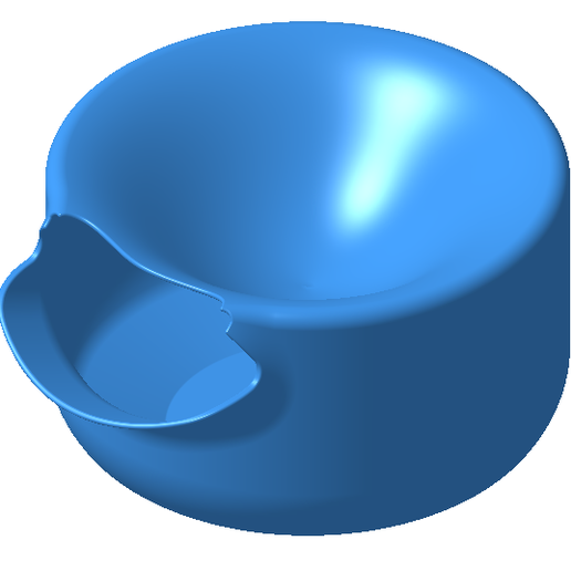 Download free 3D printing designs Bowl for roasted seeds, AlexHD