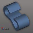 Télécharger plan imprimante 3D gatuit Clip de câble, compute4you