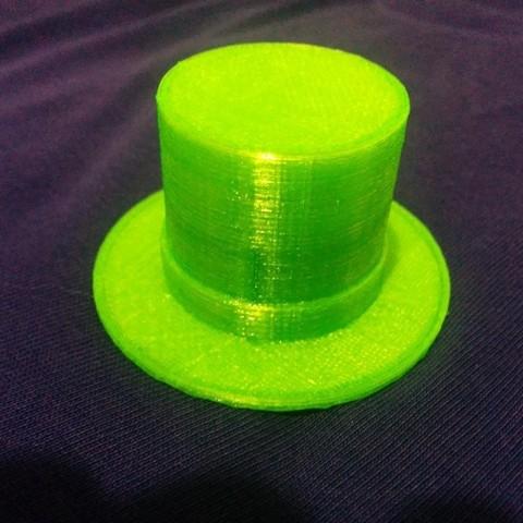 Download free 3D printing models Parametric Top Hat, urish