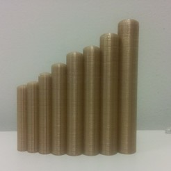Descargar archivo 3D gratis Flauta de pan peruana paramétrica (Zampoña / Siku), urish