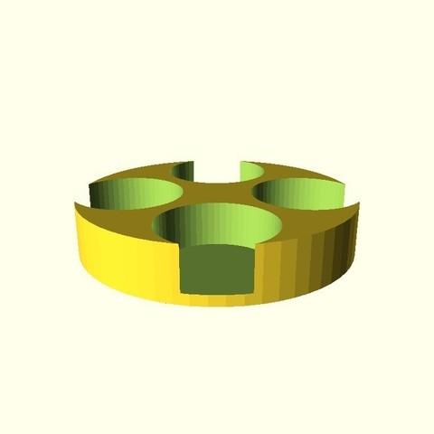 298c6442d08b0485f3c6c3744cb8a4ff_display_large.jpg Télécharger fichier STL gratuit Boîte de piles pour piles numismatiques (CR2016 CR2025 CR2032) • Modèle imprimable en 3D, urish