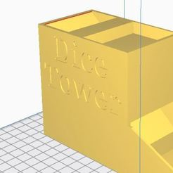 Download free 3D printer files dice tower, jerem170787