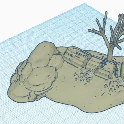 Télécharger plan imprimante 3D gatuit diorama desert, jerem170787