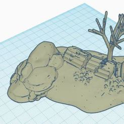 Download free 3D printing files desert diorama, jerem170787