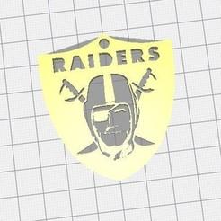 Télécharger fichier STL gratuit logo key raiders nfl • Design pour impression 3D, jerem170787
