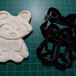 Télécharger objet 3D MOULE À BISCUIT DE RENARD, johnyh10
