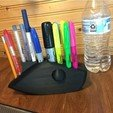 Download free 3D printer designs LURE PEN HOLDER version 2 FULL FIN, UPSCALE_LURES