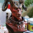 Download 3D printing files demon slave bust, LowSeb