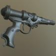 Télécharger objet 3D pistolet à énergie steampunk, LowSeb