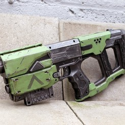 Download STL files Nerf recon cs6 Custom stock, LowSeb