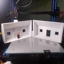 20190809_174458.jpg Download STL file Cottage for interlocking brick figures. • 3D printer model, WW3D