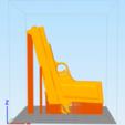 Descargar archivo 3D Pistola de banda elástica Print in Place, WW3D