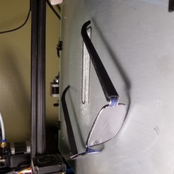 Download free 3D printer designs Eye Glasses Arm, WW3D