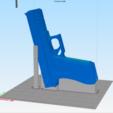 Descargar archivos 3D Pistola de caucho G17R, WW3D
