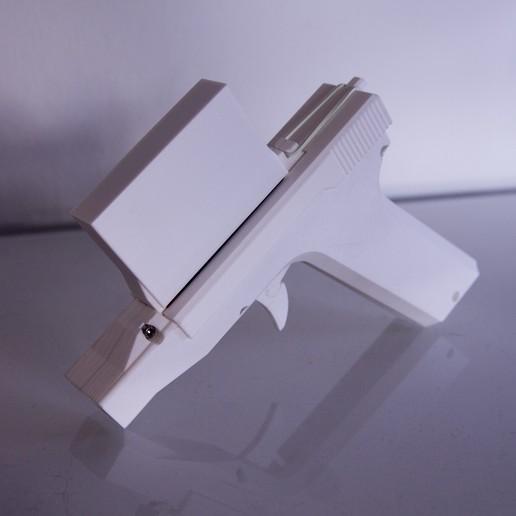 4.JPG Download STL file Nerf pistol with clip • 3D printer design, MrCrankyface