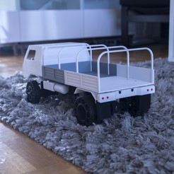 Download free 3D printer model 3D Printed RC Truck V3, MrCrankyface