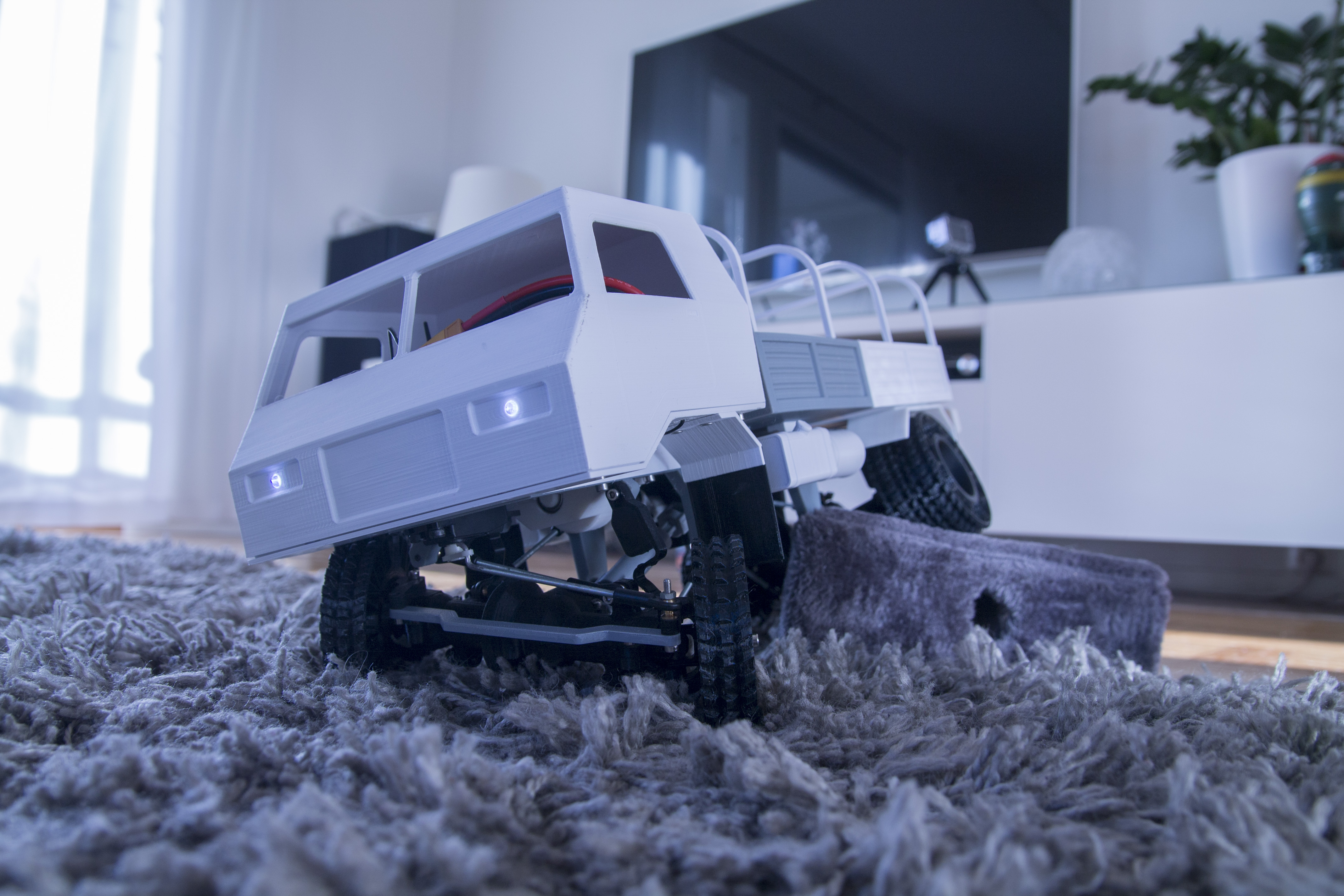 36__5_.JPG Download STL file 3D Printed RC Truck V3 • 3D print model, MrCrankyface