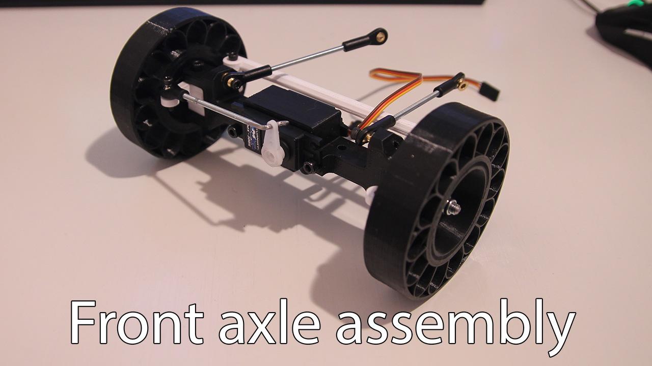 thumb.jpg Download free STL file Printed truck V2: Front axle • 3D printable design, MrCrankyface