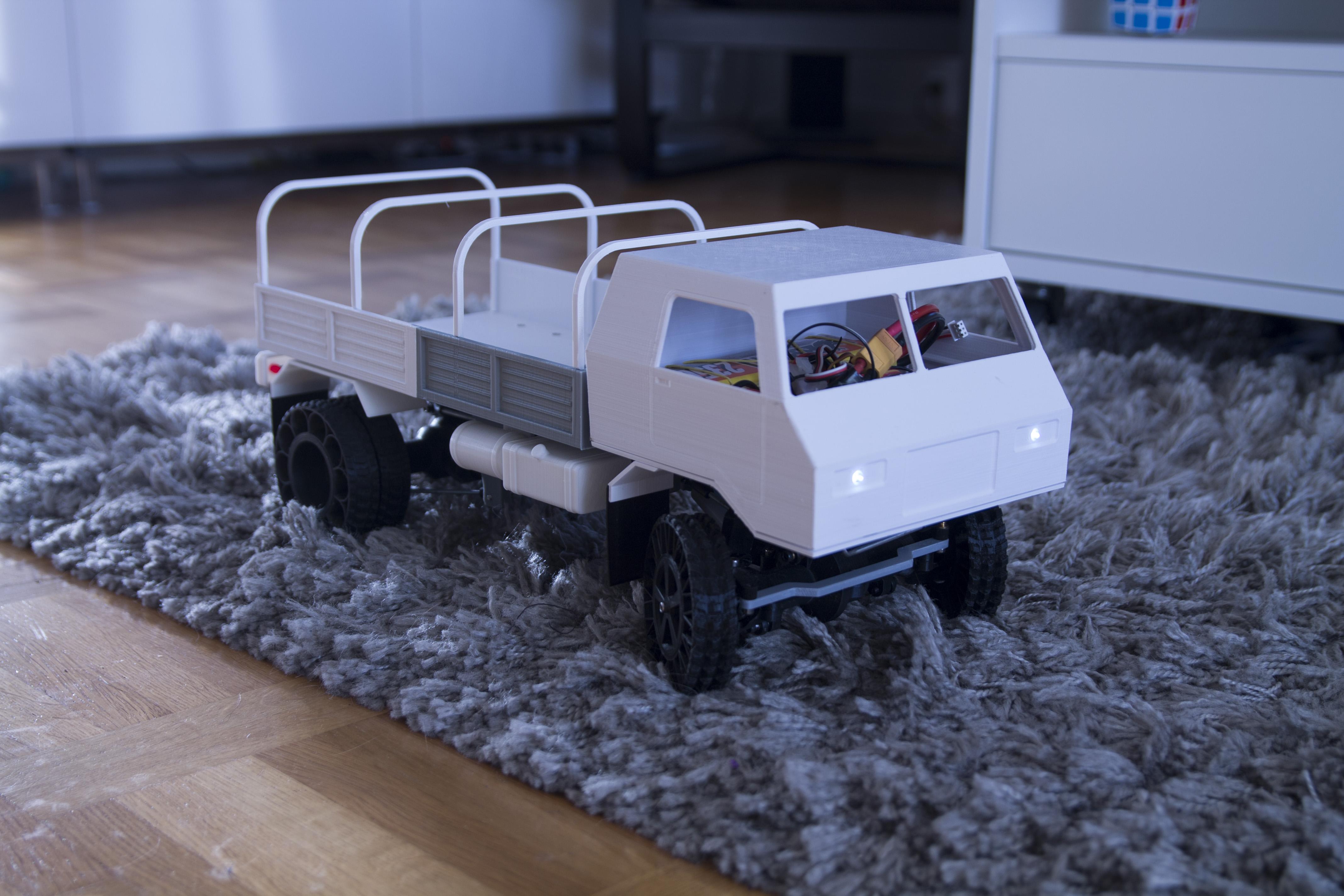36__10_.JPG Download STL file 3D Printed RC Truck V3 • 3D print model, MrCrankyface