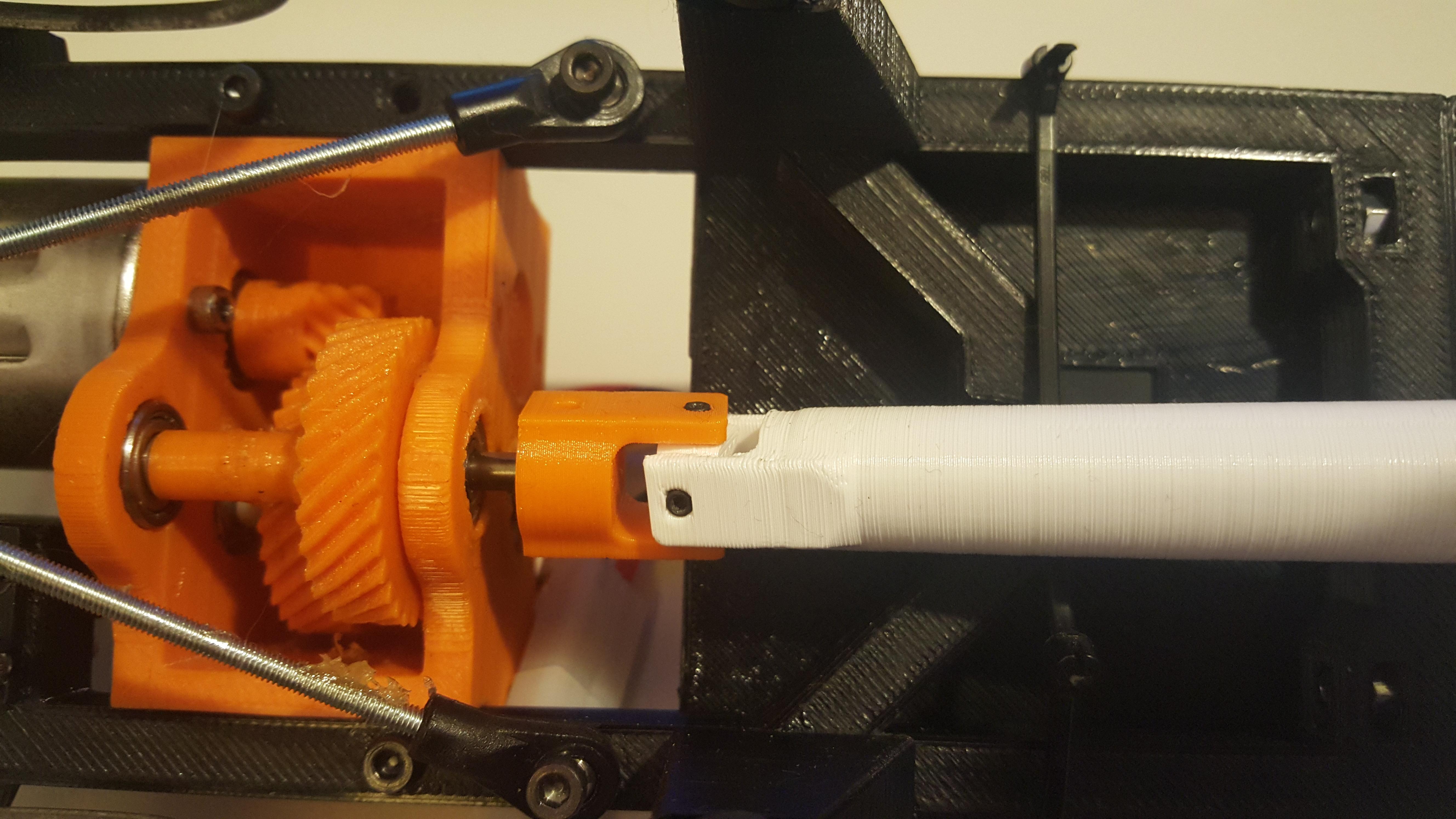 20160305_153202.jpg Télécharger fichier STL gratuit Camion imprimé : Arbre de transmission • Plan imprimable en 3D, MrCrankyface