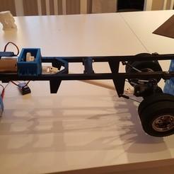 24.jpg Télécharger fichier STL gratuit Camion imprimé : Cadre V1 • Modèle pour imprimante 3D, MrCrankyface