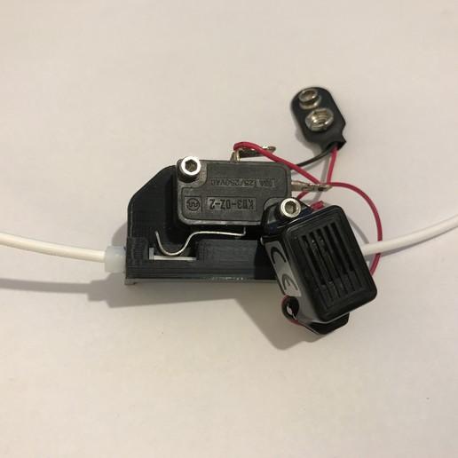 Télécharger fichier STL gratuit Alarme à filament / capteur, MrCrankyface