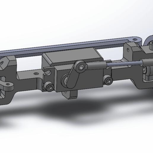 TlsdVWl.png Download free STL file Printed truck V2: Front axle • 3D printable design, MrCrankyface
