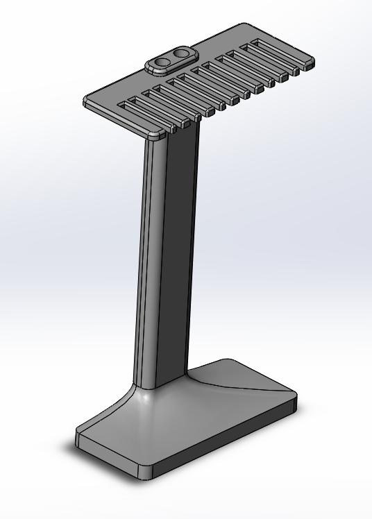 SLDWORKS_2016-03-05_17-42-12.png Download STL file Apple Watch Bandholder • 3D printer object, MrCrankyface