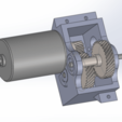 Download free 3D print files Printed Truck: Gearbox Helical 18:1 Ratio, MrCrankyface