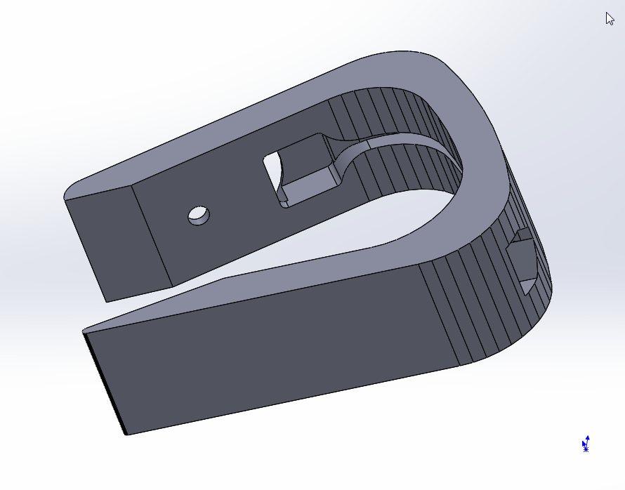 SLDWORKS_2016-03-05_17-56-02.png Download free STL file Apple watch stand C • Template to 3D print, MrCrankyface