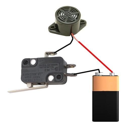 filamentchecker2.JPG Télécharger fichier STL gratuit Alarme à filament / capteur • Plan pour impression 3D, MrCrankyface