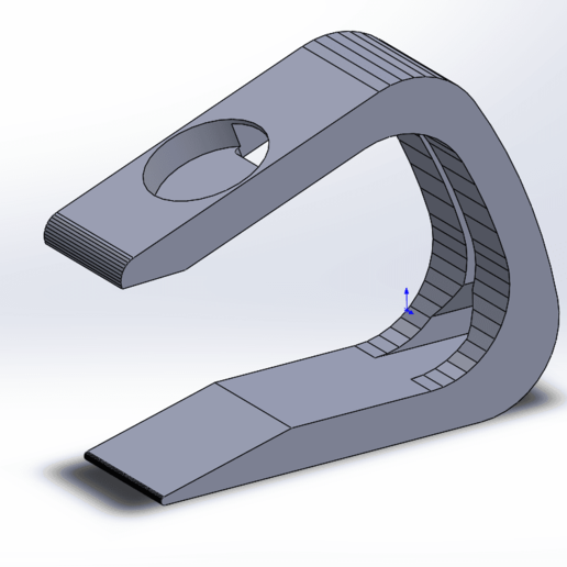 Impresiones 3D gratis Soporte para relojes Apple C, MrCrankyface