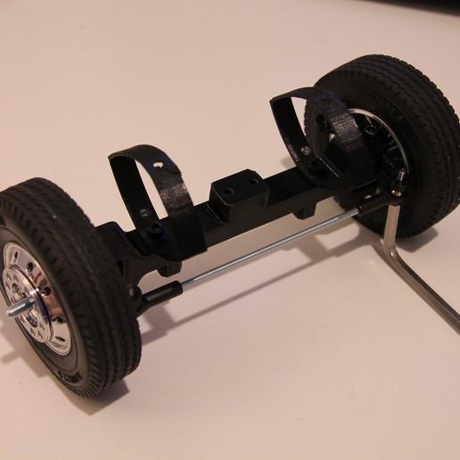 32.JPG Download free STL file Printed truck V1: Front axle • 3D printing design, MrCrankyface
