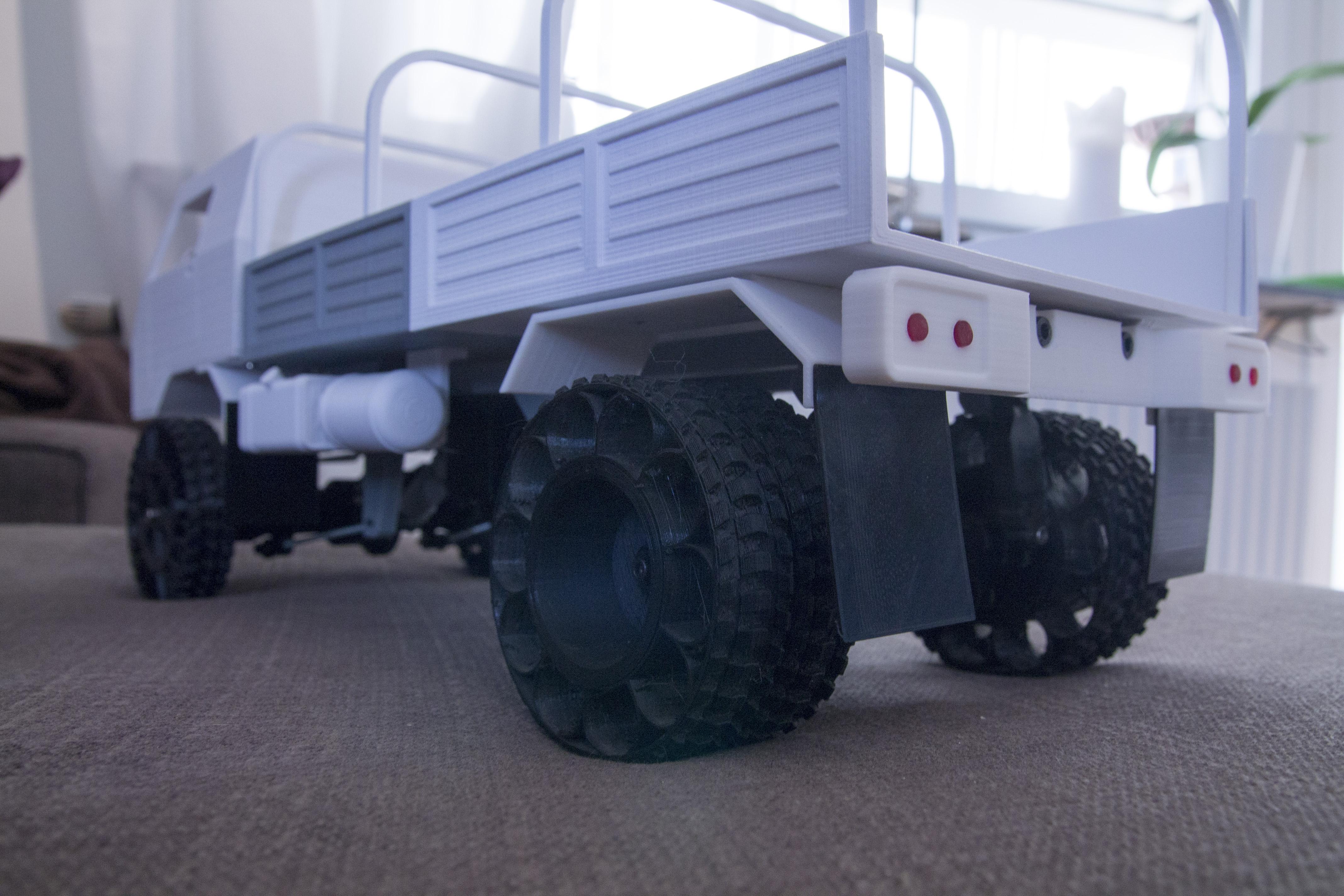 36__1_.JPG Download STL file 3D Printed RC Truck V3 • 3D print model, MrCrankyface