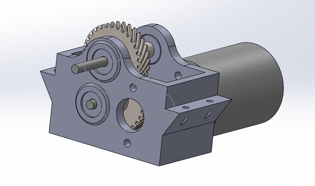 50amywr.png Télécharger fichier STL gratuit Camion Imprimé : Boîte de vitesses Rapport de démultiplication 18:1 à engrenages hélicoïdaux • Plan pour imprimante 3D, MrCrankyface