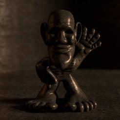 Free 3D print files Lil' HeebieJeebie, DataDink