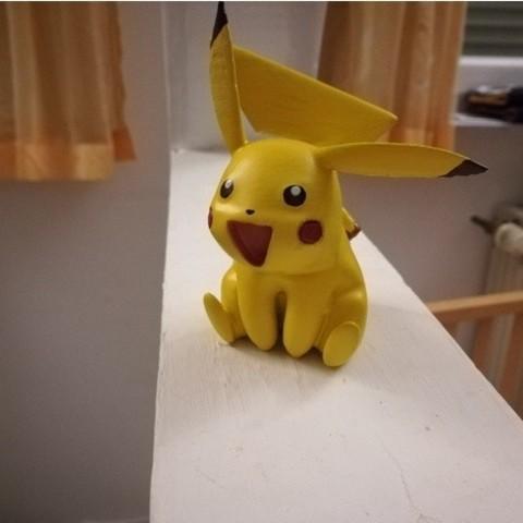 Free STL file Lil' Pikachu, DataDink