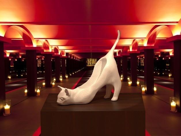 CrazyCatShoe.jpg Download free STL file Crazy Cat Shoe (Concept) • 3D printable template, DataDink